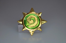zelda green spirit stone pin