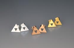 Triforce Earring