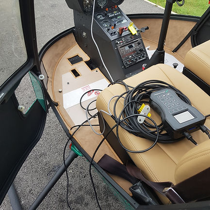 Serwis Robinson R22 i R44. Wywazanie i torowanie DynaVibe