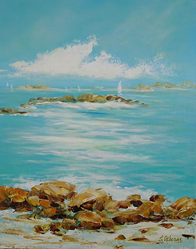 Abstract Seascape Painting.JPG