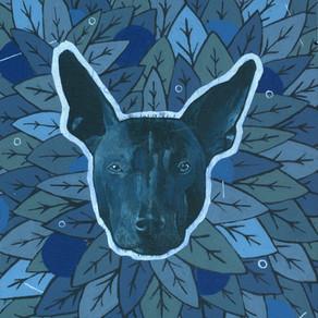"EMAV Review: ""Indigo"" by artist Brian Martinez at The Joseph Watson Collection"