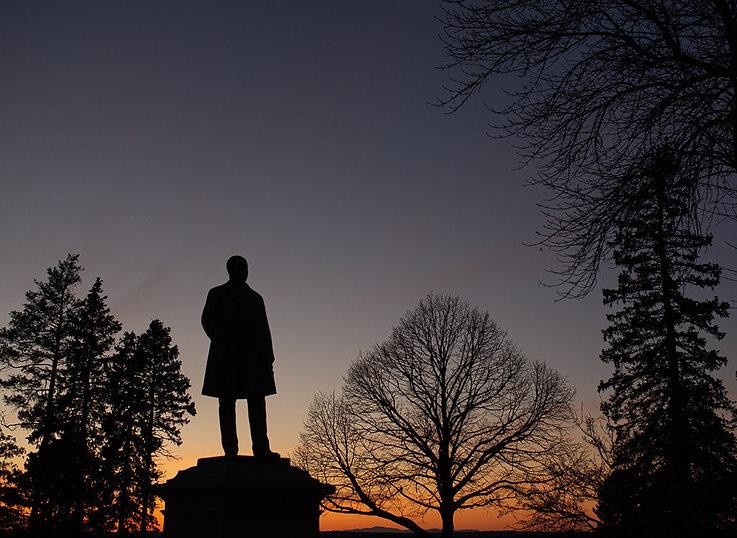 scherzo reed statue sunset.jpg