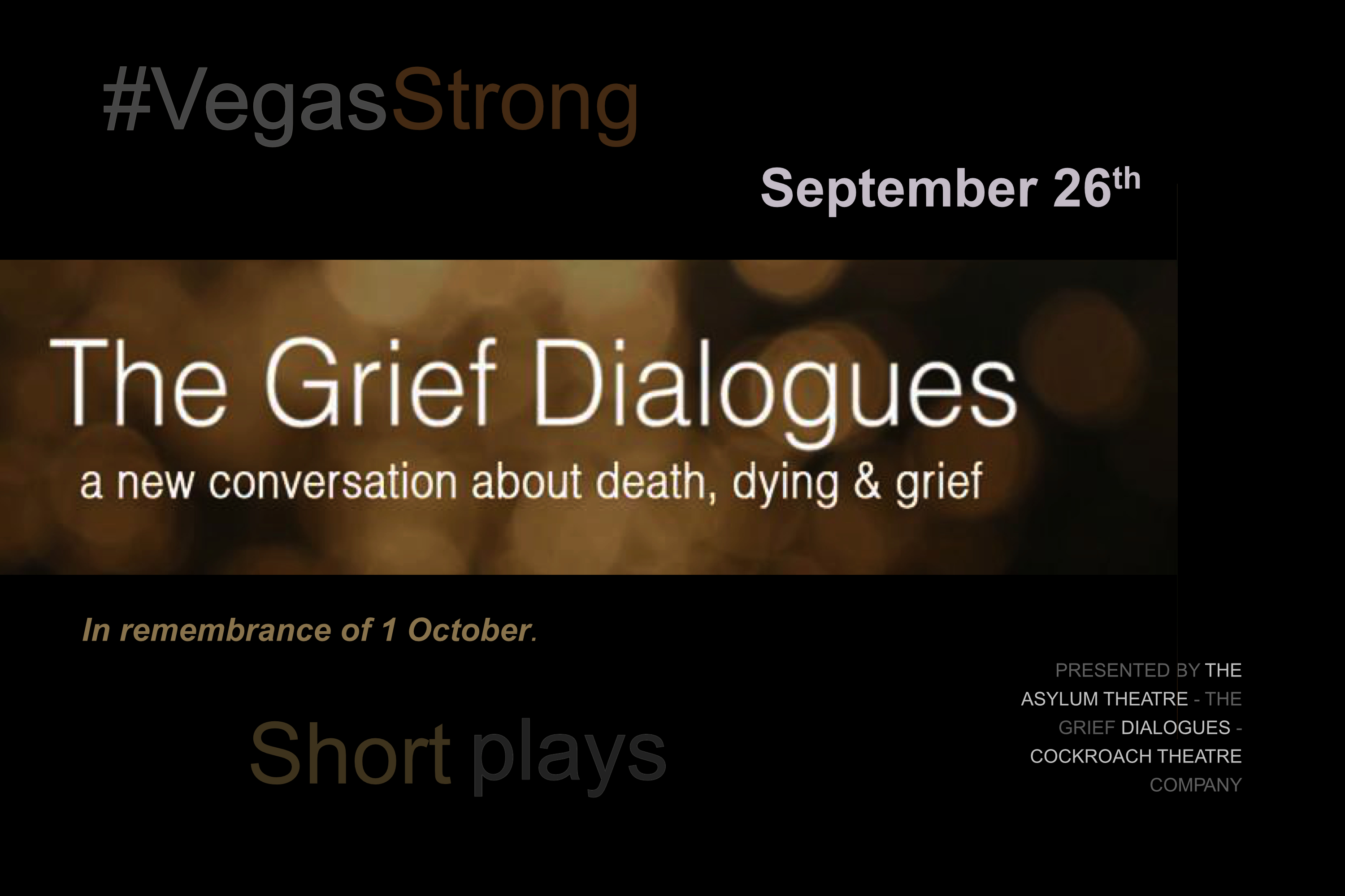 THE GRIEF DIALOGUES