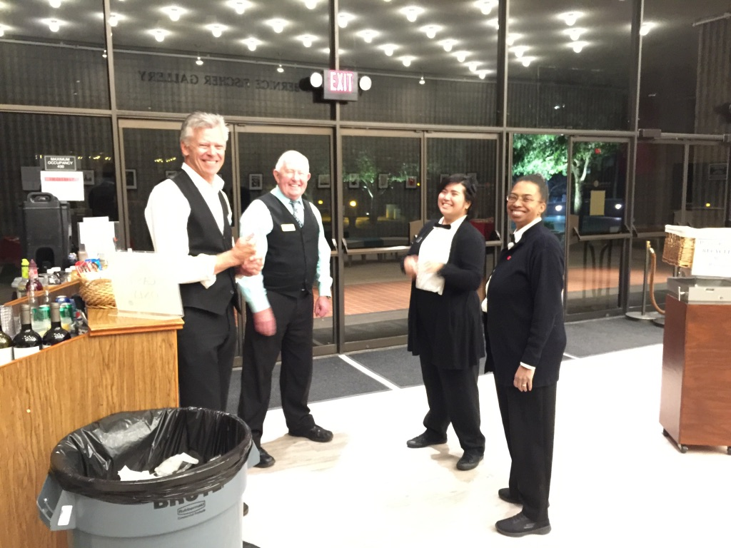 The UNLV PAC front of house staff went above and beyond to make things run smoothly