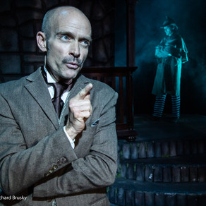 EMAV Review: Vegas Theatre Co. serves up a delicious mystery with 'Holmes & Watson' ★★★★