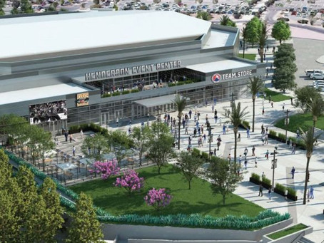 Renderings released for the Henderson Events Center