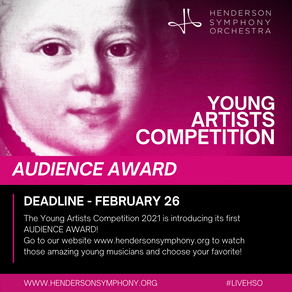 VOTE! for Henderson Symphony Orchestra's 2021 Young Artists Competition