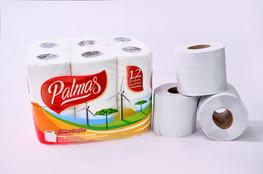 Papel Higiênico Palmas - Folha dupla Neutro