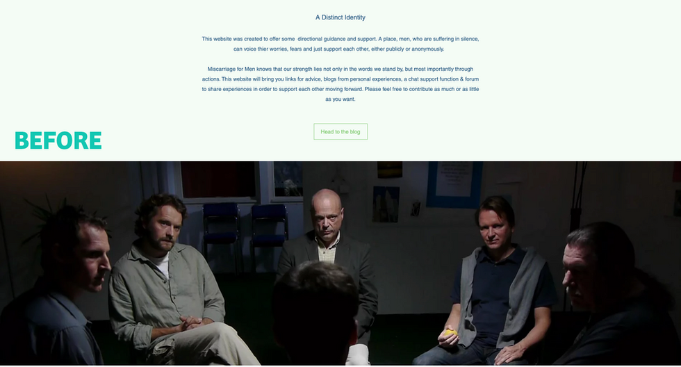 Miscarriage for Men | Old Homepage