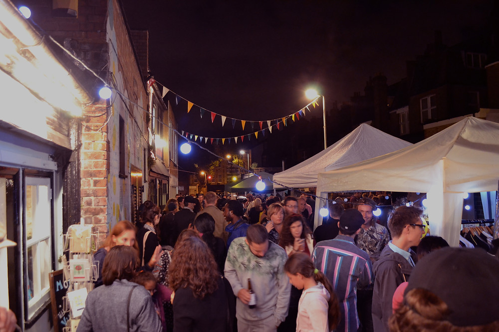 Street Party on the Mews
