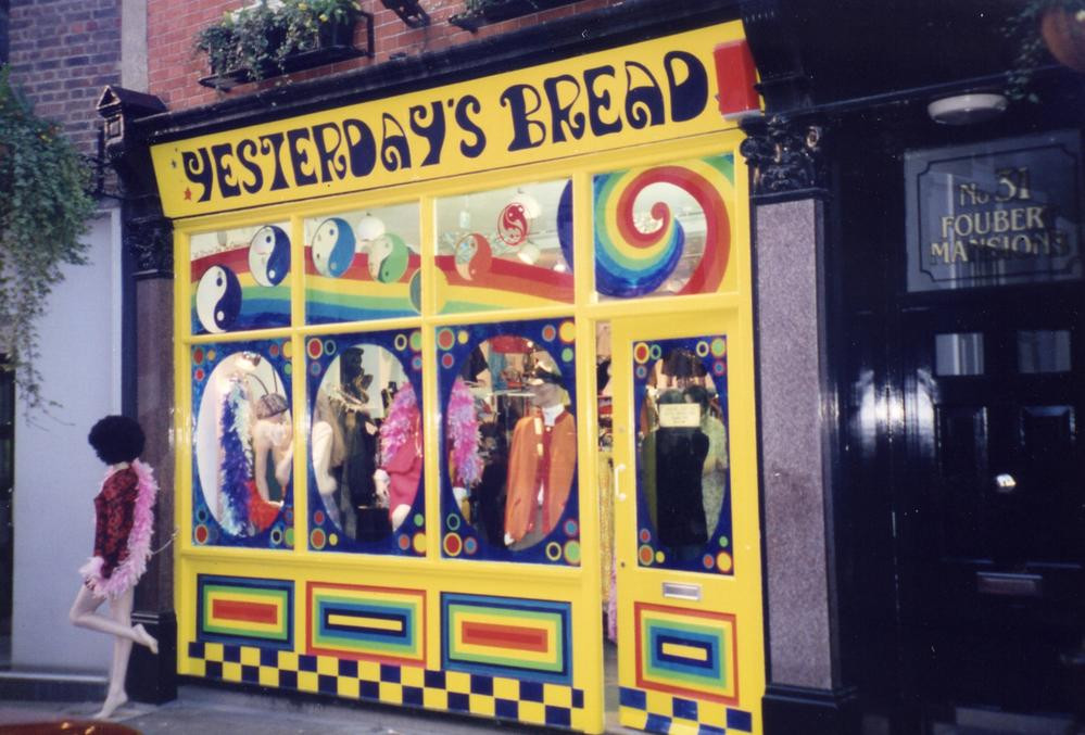 Yesterdays Bread, Carnaby Street 1990's - Closed 2001