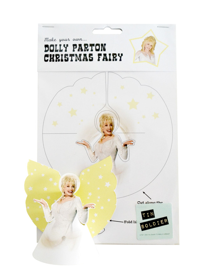 Blog // The story behind the Dolly Parton Christmas Fairy