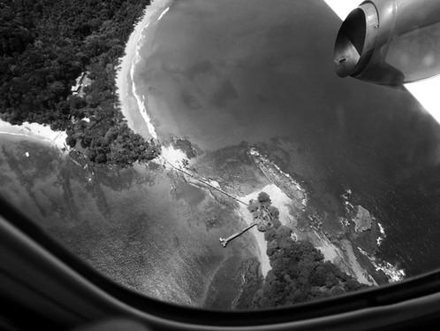 Aerial View of Bom Bom Island
