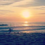 Sunset at Nazare