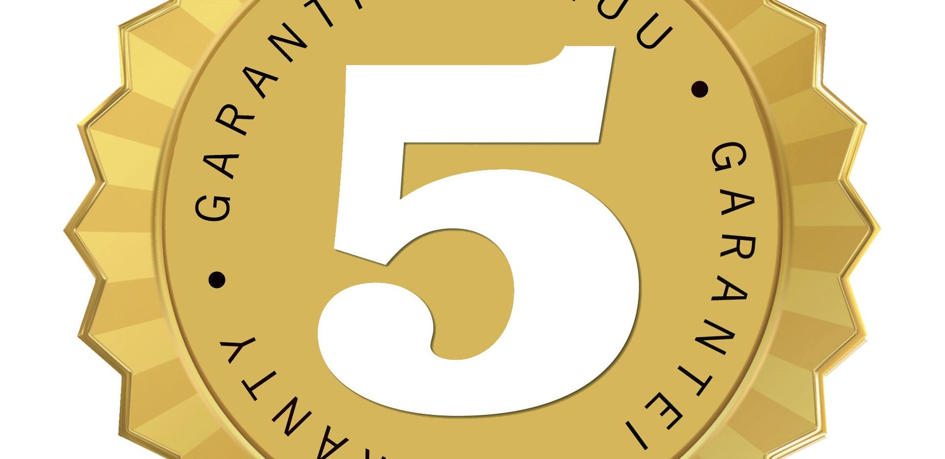 5-yrs-Guarantee