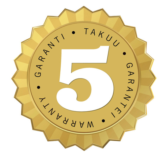 5-yrs-Guarantee