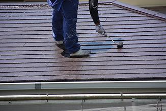屋根のペイント工事