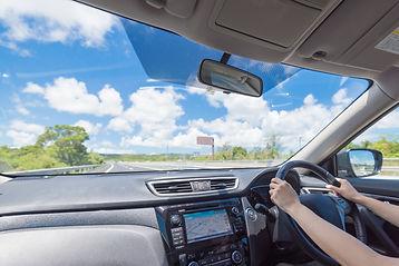 自動車ガラスすっきりとした視界