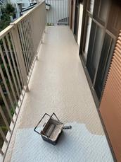 廊下塗装・防水