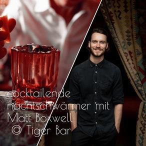 Matt Boswell, Tiger Bar, 2/2