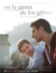 afiche película en la gama de los grises de Claudo Marcone