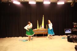 Korayma and Ireen dancing Sanjuanito