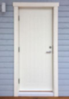 Наружная финская дверь, загородного дома, входная теплая Edux lahti
