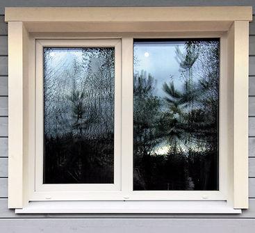 Окна загородного дома, veka rehau