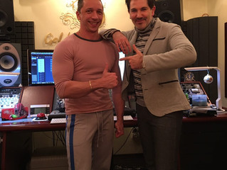 Авраам Руссо в студии Goldman Records