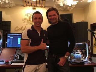 Дмитрий Маликов на студии Goldman Records