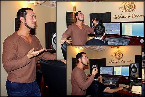 Студия звукозаписи Goldman Records Москва, запись вокала, сведение , мастеринг