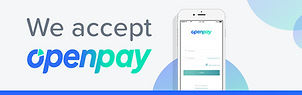 Email Bar  we accept OpenPay - Option 1.