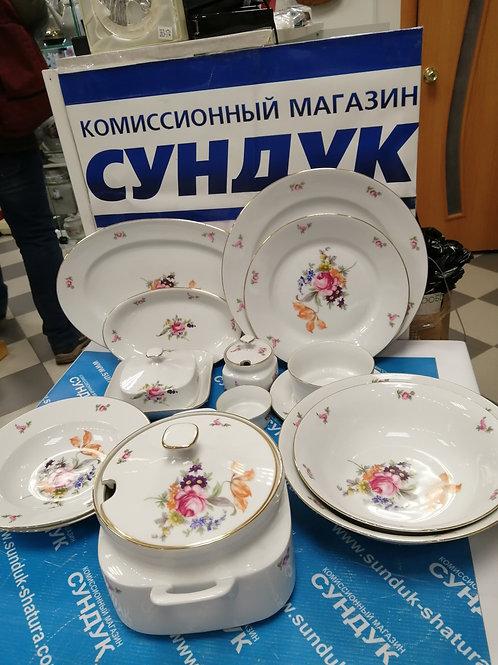 Столовый сервиз Бернадотт Полевой цветок