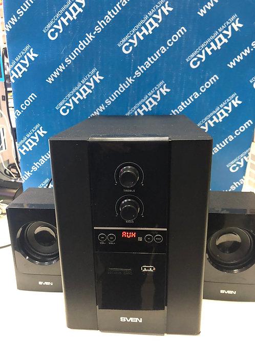 Компьютерные колонки SVEN SPS-1820 Black Glossy