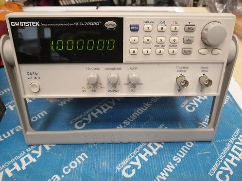 Генератор сигналов GW INSTEK SFG-72020