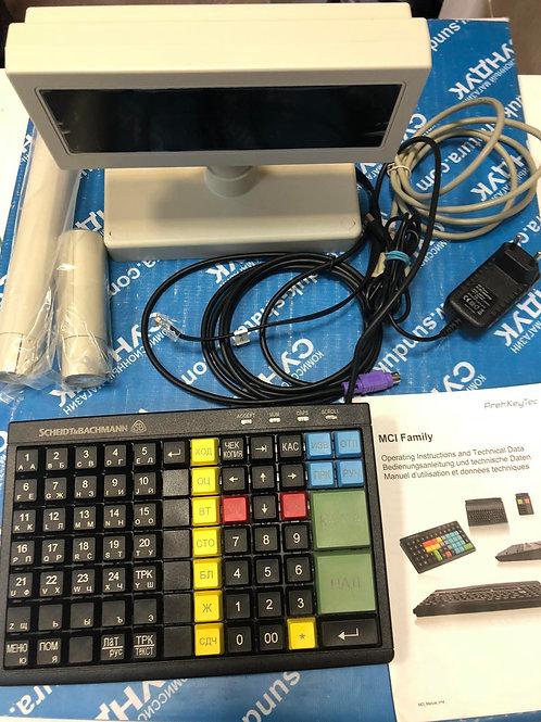 Дисплей покупателя D-200 2Fll + Клавиатура