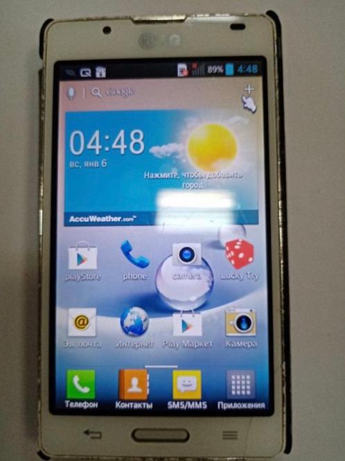 телефон LG P713