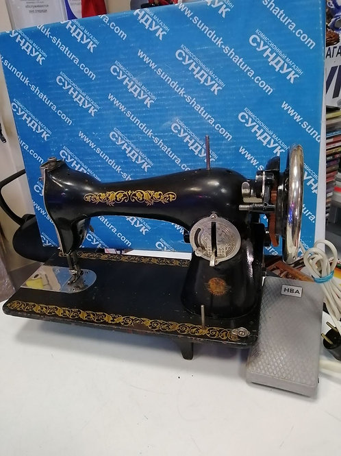 Швейная машинка Подольск с электроприводом