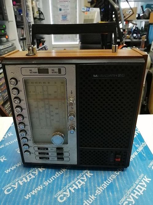 Радиоприемник Меридиан 210