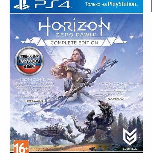 Игра Horizon Zero Dawn. Хиты PlayStation для PS4 Sony