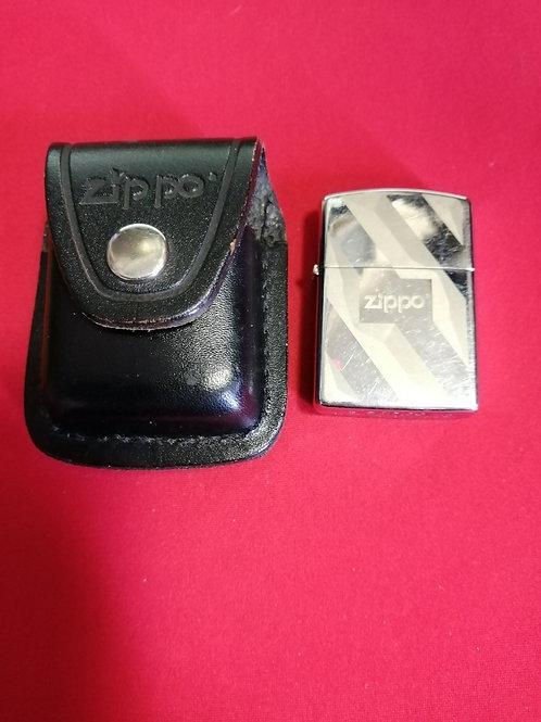 Зажигалка Zippo оригинал с напоясным чехломпоясным чехлом