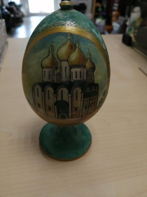 Сувенирное яйцо Храм