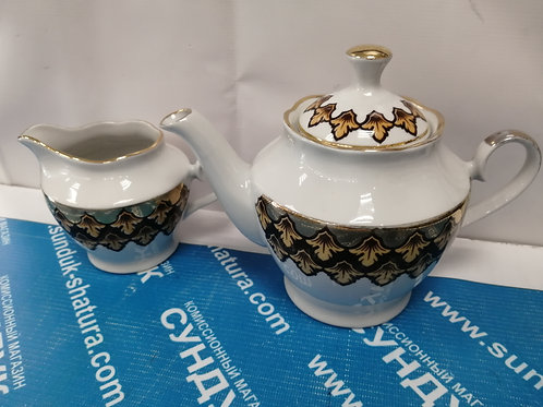 чайник фарфор Рига