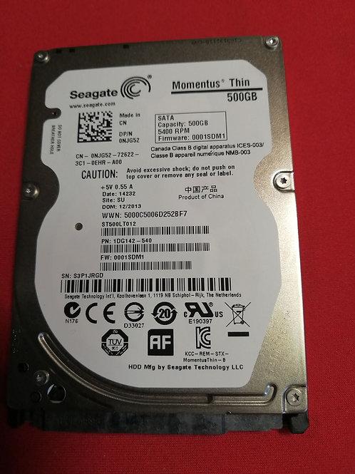 Жесткий диск для ноутбука 500Gb Seagate Momentus