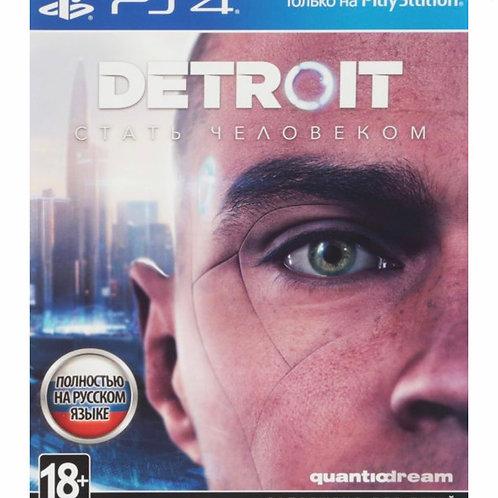 Игра Detroit: Стать человеком для PS4 Sony