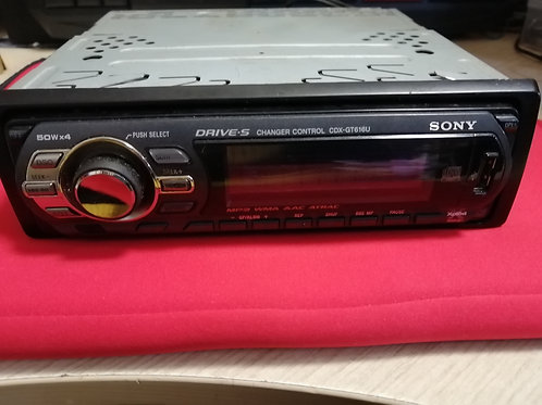автомагнитолла Sony CDX-GT616U