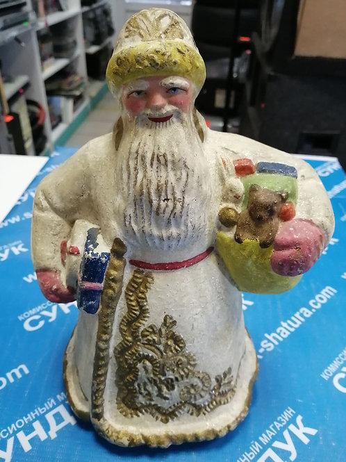 Дед Мороз СССР папье-маше 40-50гг