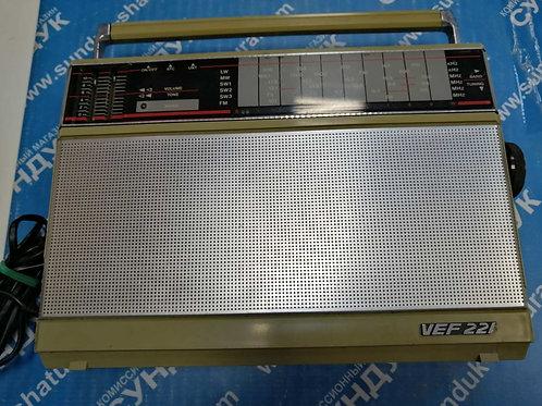 Экспортный радиоприемник VEF-221 1989 года