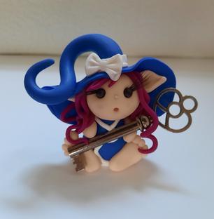 Zauberhafte Schlüsselwächterin