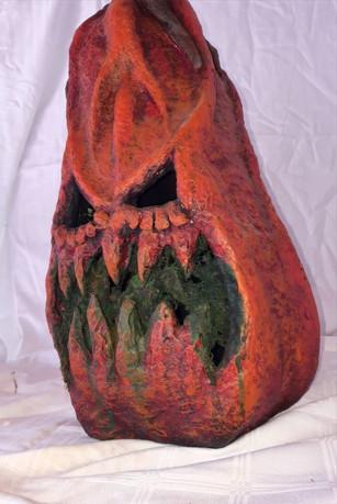 PAPPMACHÈ - halloween pumpkin